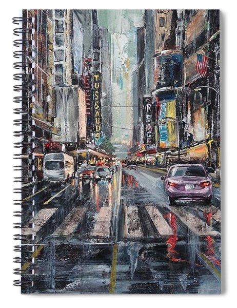 The City Rhythm Spiral Notebook