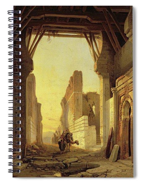 The Gates Of El Geber In Morocco Spiral Notebook