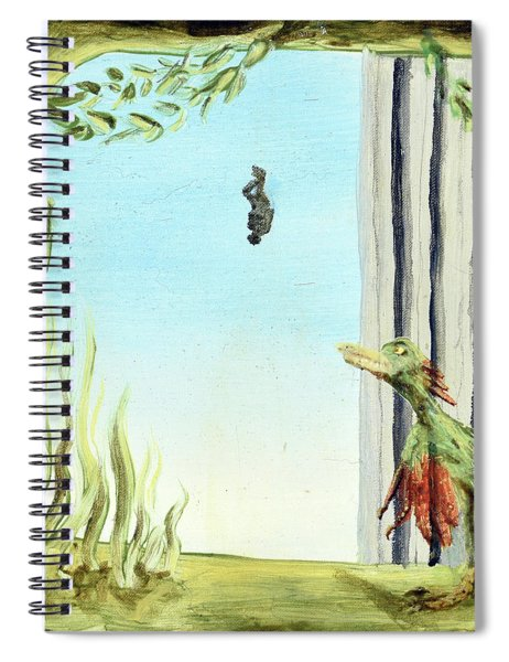The Origin Of Species -a Recurring Pattern- Spiral Notebook