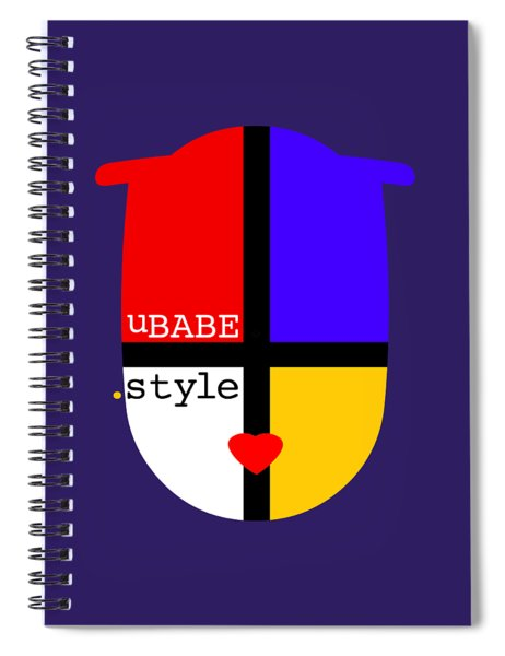 The Style Spiral Notebook