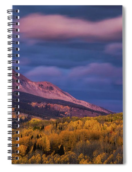The Whisper Of Clouds Spiral Notebook