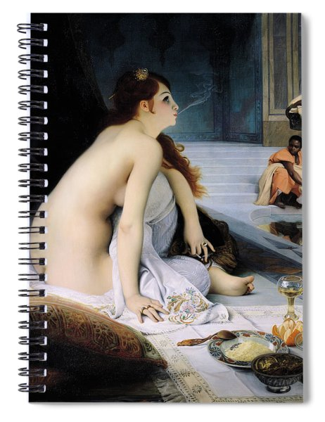 The White Slave Spiral Notebook