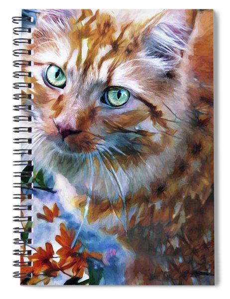 Those Eyes Spiral Notebook