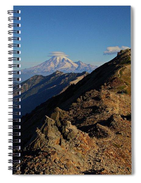 Trail To Rainier Spiral Notebook