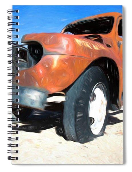 Truck Spiral Notebook