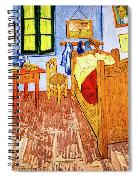 Van Gogh's Bedroom Spiral Notebook