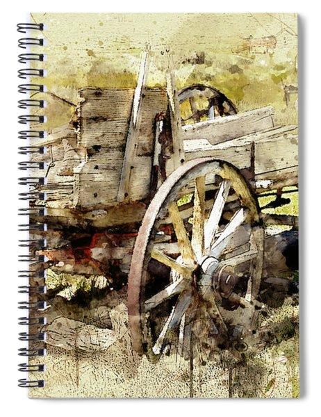 Wagon Spiral Notebook