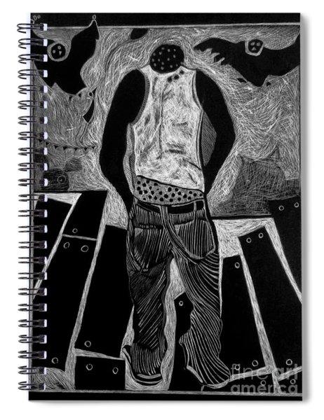 Walking While Black. Spiral Notebook