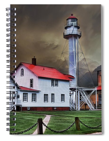 Whitefish Point Lighthouse Spiral Notebook