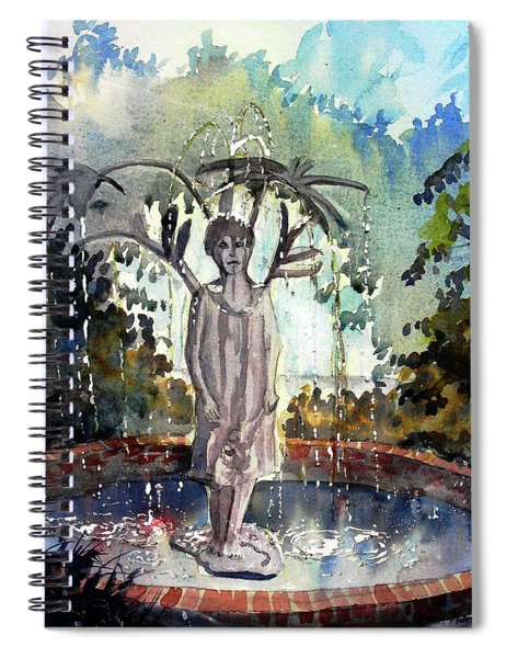Why Does It Always Rain On Me Spiral Notebook