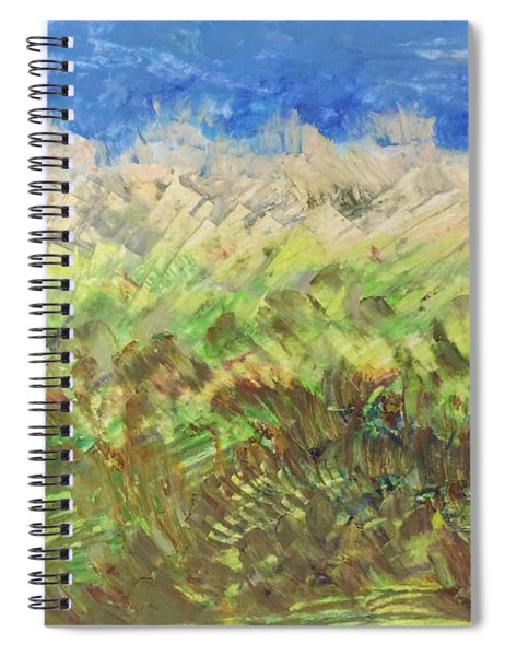 Windy Fields Spiral Notebook