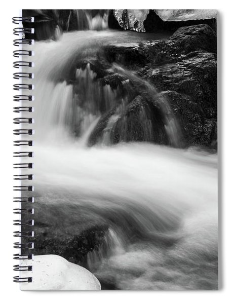 Winter At The Ilse, Harz Spiral Notebook
