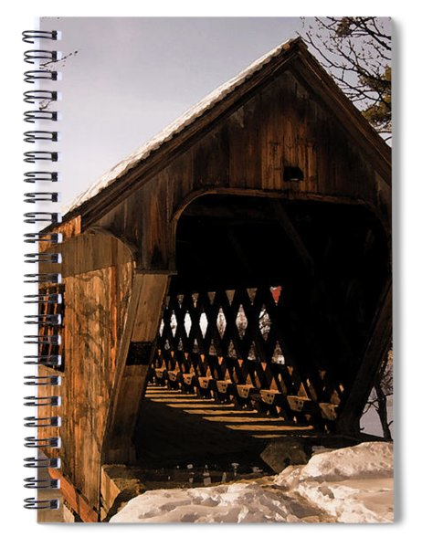 Winter Henniker Spiral Notebook