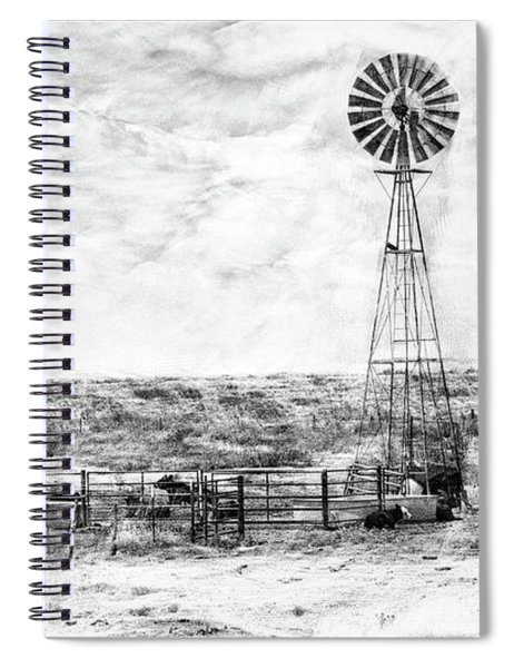 Winter Storm II Spiral Notebook
