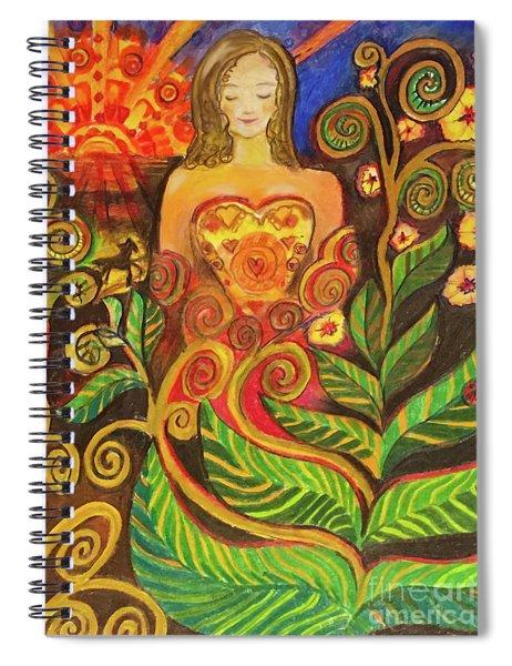 Zen Morning Spiral Notebook