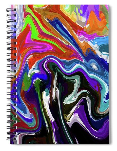 10-1-2008abcdefghij Spiral Notebook