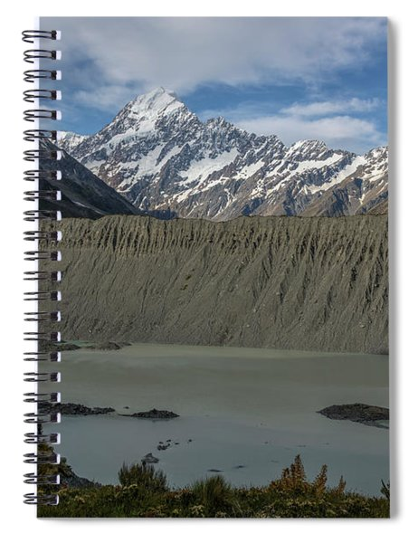 Mount Cook - New Zealand Spiral Notebook