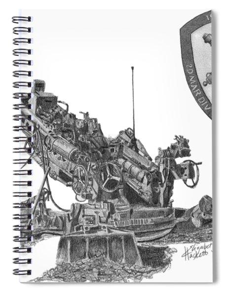 10th Marines 777 Spiral Notebook