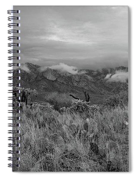12-26-18 Snow Storm Spiral Notebook