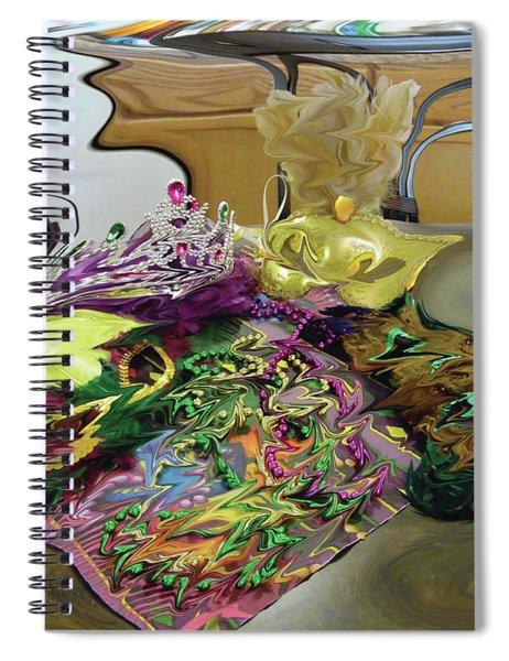 121618 Mardi Gra Morning Spiral Notebook