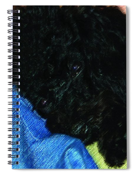 122718 Secure In Daddys Arms Spiral Notebook