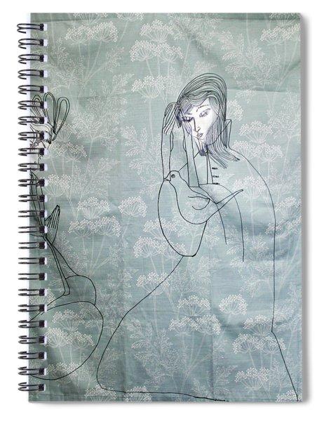 Annunciation Spiral Notebook