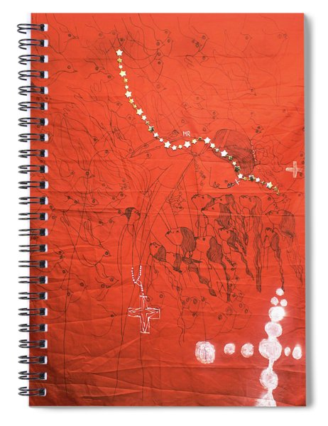 Our Lady Of Asia Spiral Notebook