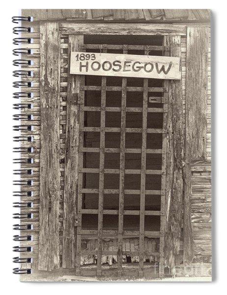 1893 Hoosegow Spiral Notebook