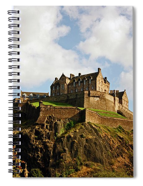 19/08/13 Edinburgh, The Castle. Spiral Notebook