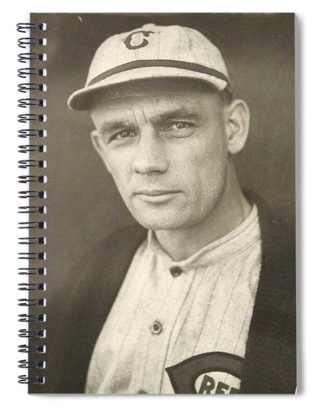1921 Rube Marquard Cincinnati Reds, Sports Spiral Notebook