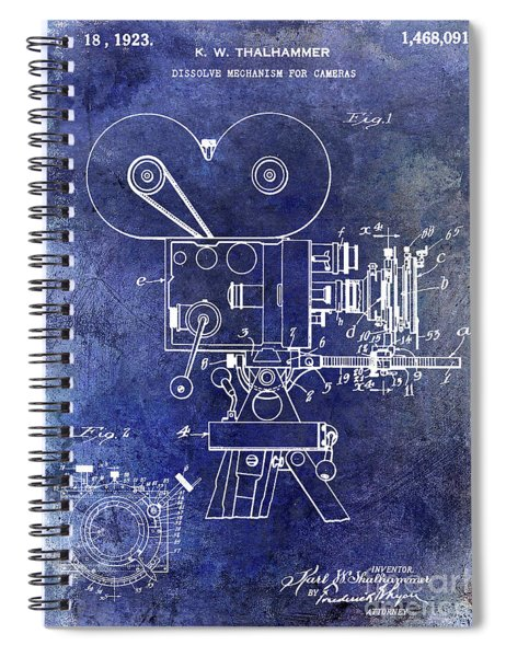 Movie Camera Spiral Notebooks | Fine Art America