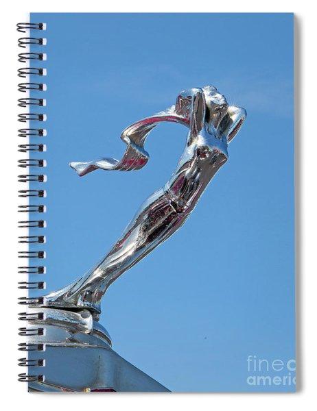 1928 Lasalle Automobile Hood Ornament Spiral Notebook