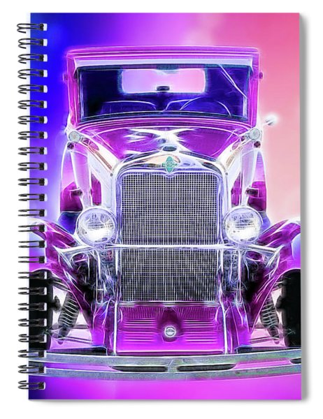 1930 Chevy Spiral Notebook