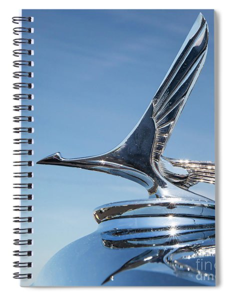 1931 Studebaker Automobile Hood Ornament Spiral Notebook