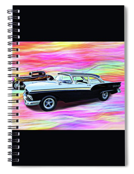 1932 And 1957 Fords Spiral Notebook