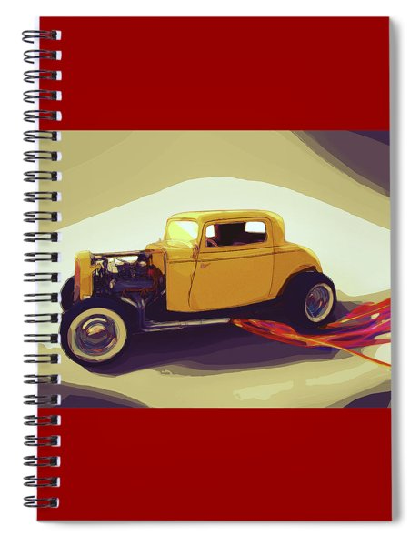 1932 Ford Coupe Spiral Notebook