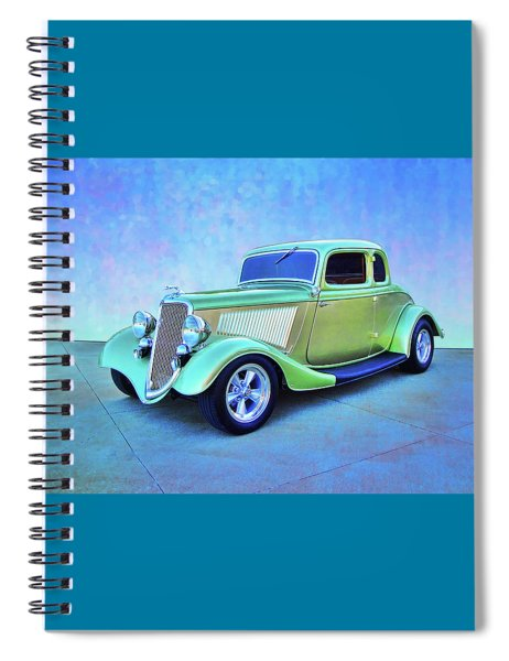 1934 Green Ford Spiral Notebook