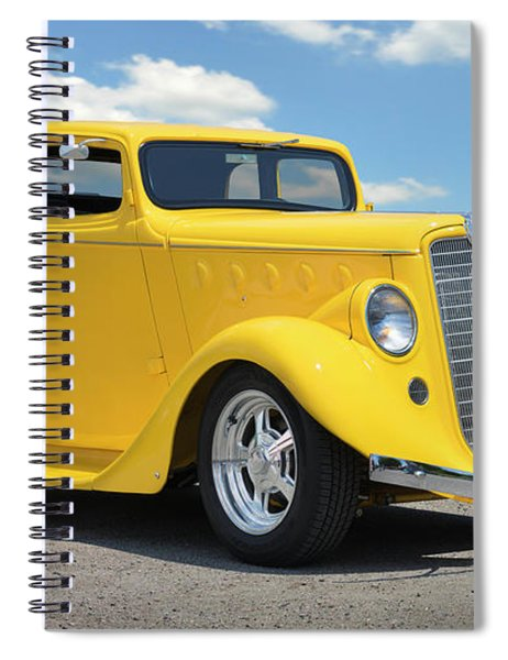 1935 Willys Coupe Spiral Notebook
