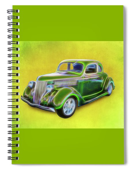 1936 Green Ford Spiral Notebook