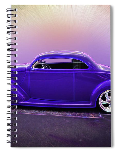 1937 Ford Coupe Spiral Notebook