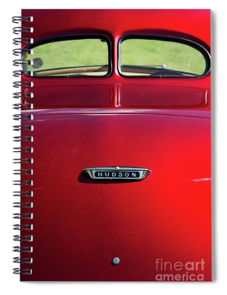 1938 Hudson 112 Coupe  Spiral Notebook
