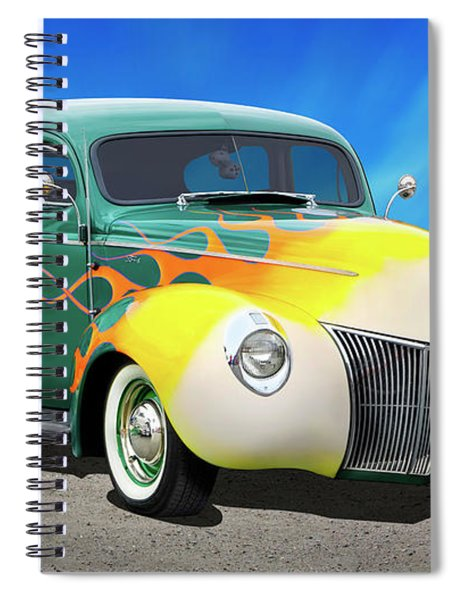 1940 Ford Coupe Spiral Notebook
