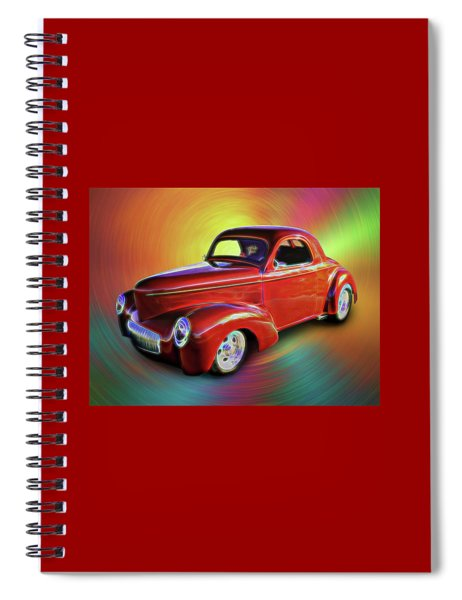 1941 Willis Coupe Spiral Notebook