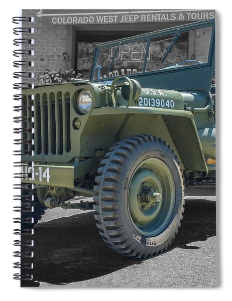 1942 Willys Gpw Spiral Notebook