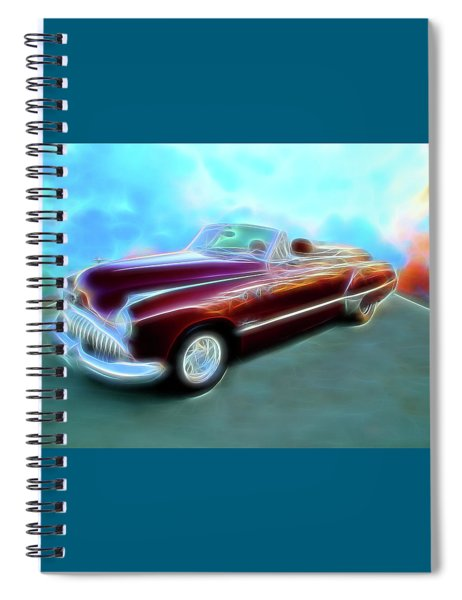 1949  Buick Convertable Spiral Notebook