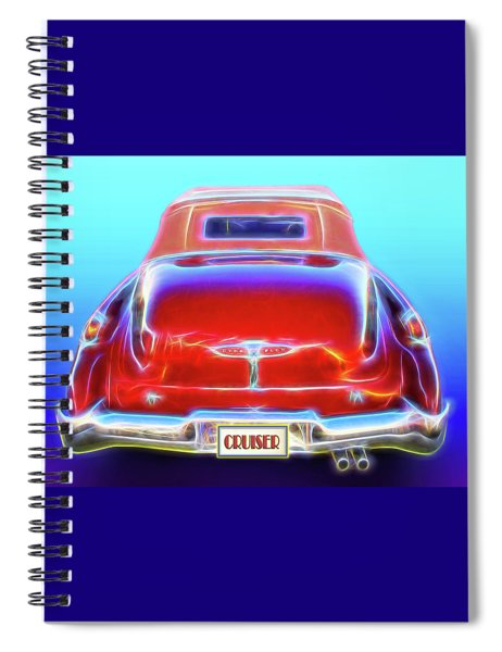 1949 Buick Cruiser Spiral Notebook