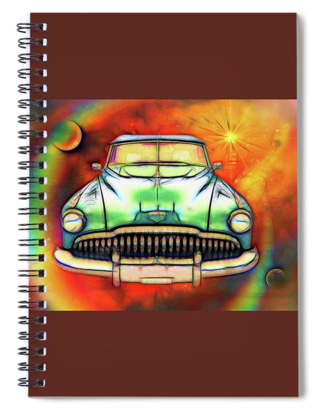 1949  Buick Headon Spiral Notebook