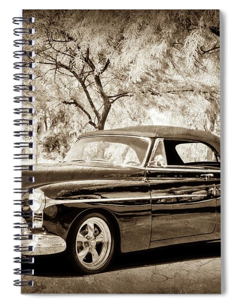 1950 Oldsmobile 88 -004bwcl Spiral Notebook