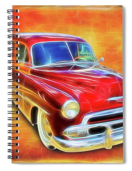 1951 Chevy Woody Spiral Notebook