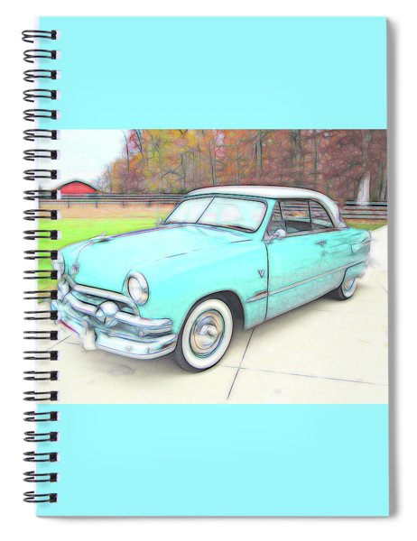 1951 Ford Spiral Notebook